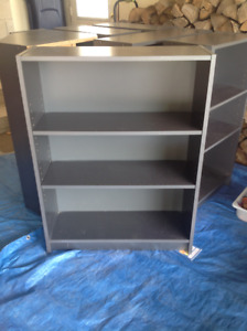 Ikea silver/grey bookshelves