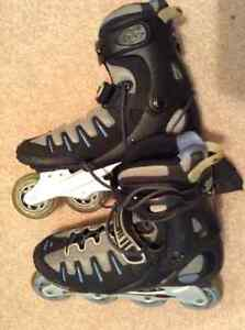 Worn-once Roller Blades, Women's Size 9
