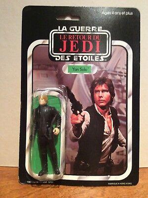 Star Wars Meccano French Luke Jedi On Yan Solo Miscard