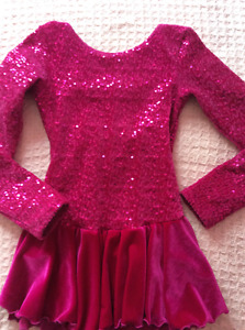 Robe de patinage Mondor 8-10 jr