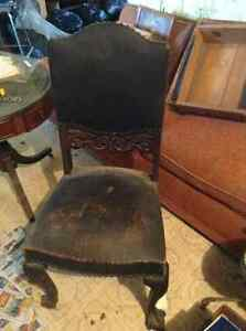 Various old chairs London Ontario image 1