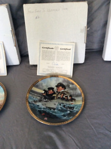 Canada Remembers Collection Plates