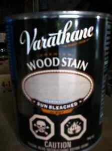 Varathane Premium Wood Stain, Sunbleached #201,, 946 ml cans.