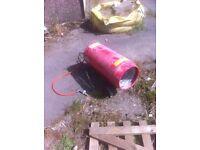 Drapper electric gas heater, garage workshop
