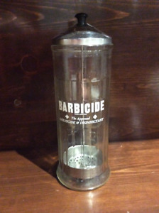 Barbicide vintage coiffeur stérilisateur