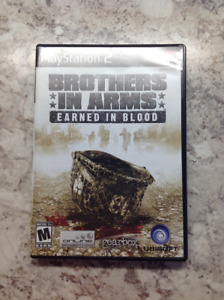 Brothers in Arms: Earned in Blood and DDR MAX2 for PS2