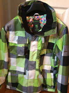 Men's Medium Ripzone Ski Jacket