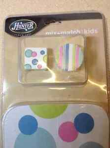 "Hunter 4-Pack 42"" reversible Turquoise Dots/Stripes - 23995 Cambridge Kitchener Area image 3"