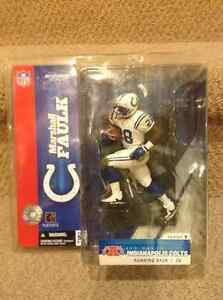 Mcfarlane NFL Marshall Faulk Indianapolis Colts