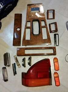 Assorted parts from a '70s-'80s Jaguar XJs and XJ6