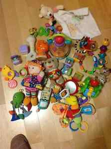 Large assortment of baby toys toddler toys