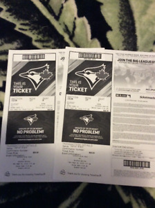 blue jays vs Houston astros's...2 great seats behind home plate