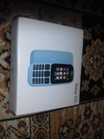 Nokia phone dual sim 105 brand new