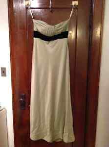 Mint Green Floor Length Gown - Size 10