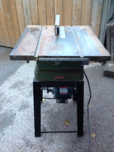 CRAFTSMAN 18 X 20 CAST IRON Table top  SAW