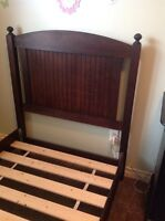 Twin Bed Frame - Solid Birch