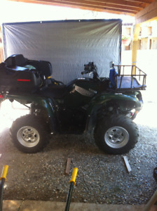 2007 Yamaha grizzly quad