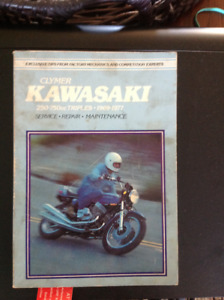 Kawasaki motorcycle manual.