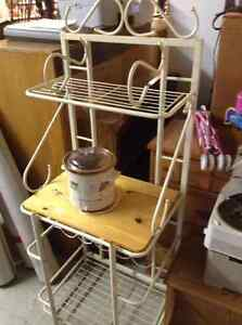 FAPO - Microwave Stand W/ Shelves