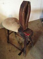 Antique harness maker
