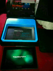 BlackBerry PlayBook 64GB WiFi + HDMI + Sleeve – NEW