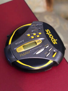 Portable Sony Walkman CD players in very good condition