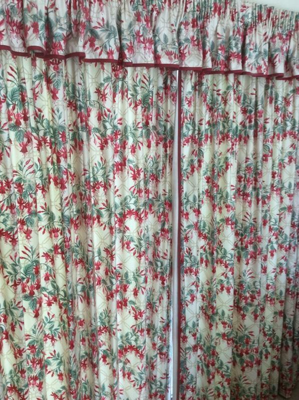 Laura Ashley Curtains Tie Backs And Pelmet In Exeter