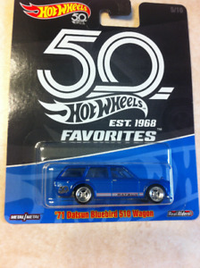 Hot Wheels 50th Anniversary Favourites Datsun 510