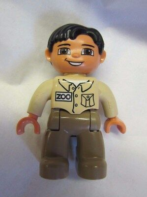 LEGO DUPLO ZOO KEEPER MAN WORKER 2.5