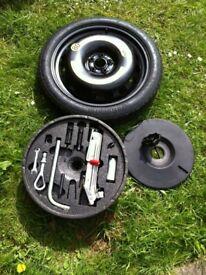 "Audi TT 18"" space saver and jack kit"
