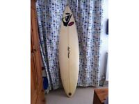 Surfboard 6'9'' mini gun