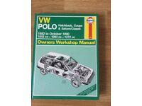 Haynes Polo manual excellent condition £3