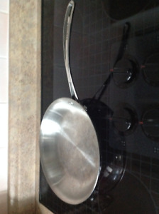 FRY PAN, STAINLESS STEEL