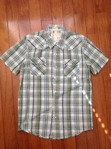Aeropostale Shirt Button Up BNWOT Medium