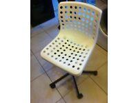 IKEA skelberg chair. Very comfy like brand new