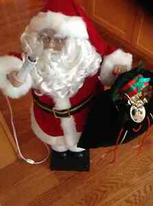 "Deluxe 30"" Animated Santa with Music"