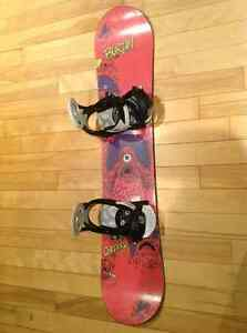 Burton Board 120cm & Burton bindings
