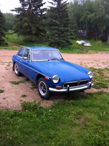 74 MGB GT for sale