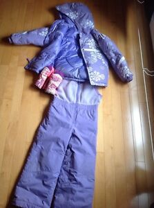Columbia toddler girls snow suit - Size 4-5