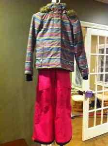Roxy winter coat & Nikie Ride snow pants-Triple Flip