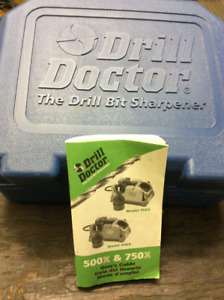 "Drill Doctor. 750X like new, with case and instructions ""REDUCED"