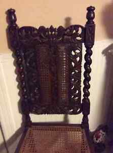 """Antique historic solid oak church pew 54"""" plus other antiques Kitchener / Waterloo Kitchener Area image 9"""