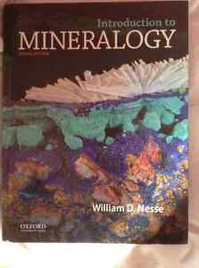 Introduction to Mineralogy Second Edition- Nesse