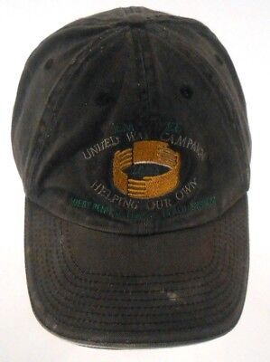 Penn Distressed Hat - United Way 2003 West Penn Alegeny Health System Well Worn Distressed Cap Hat