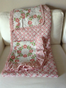 Queen Size Quilt Comforter with 2 Pillow Shams