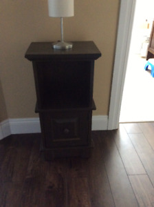 Wooden shelf / end table