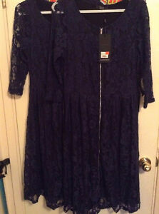 Matching lace dresses one S/M other M/L