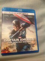Captain America Winter Soldier Blu-ray 3D Blu-ray Digital Copy