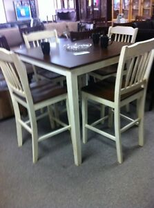 5 Pcs Counter Height Set - New