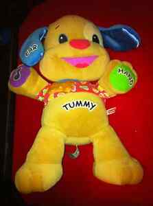 Laugh n Learn Puppy Love to Play Fisher Price ABCs Sing Songs